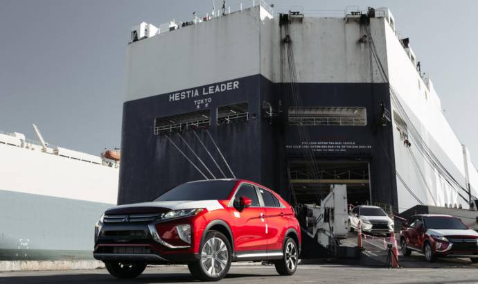 Mitsubishi Eclipse Cross arrives in the US