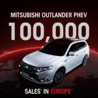 Mitsubishi Outlander PHEV reaches 100.000 units sold