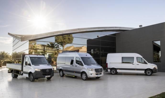 New generation Mercedes-Benz Sprinter unveiled