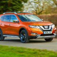 Nissan X-Trail Platinum Edition SV introduced in UK