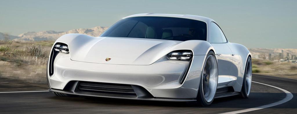 Porsche investing six billion euros in e-mobility
