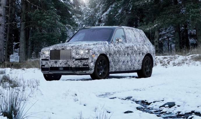Rolls Royce SUV to be called Cullinan
