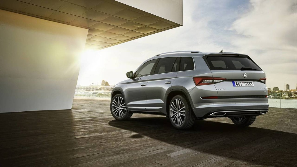 Skoda Kodiaq Laurin and Klement - official pictures and details