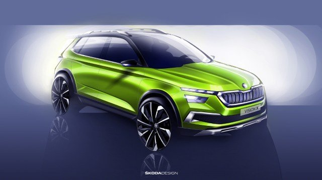 Skoda at the 2018 Geneva Motor Show