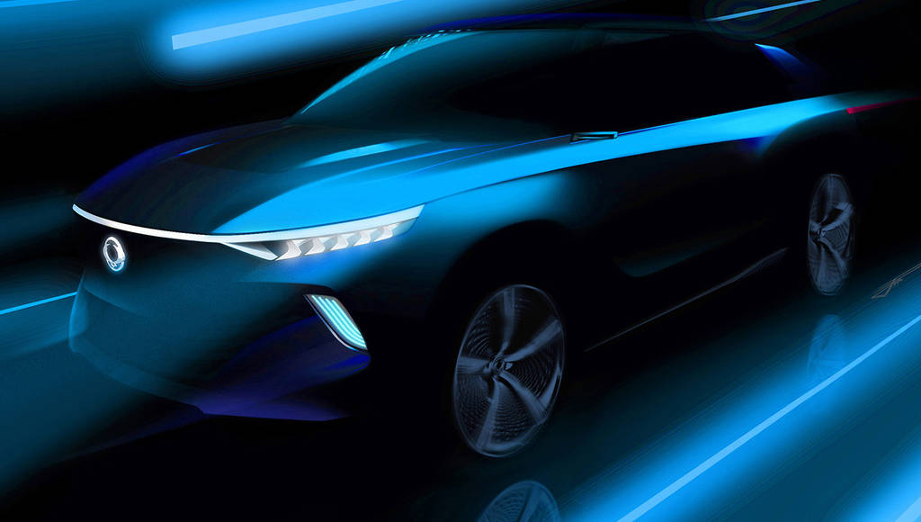 SsangYong e-SIV Concept - First teaser pictures