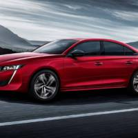 This is the new generation Peugeot 508