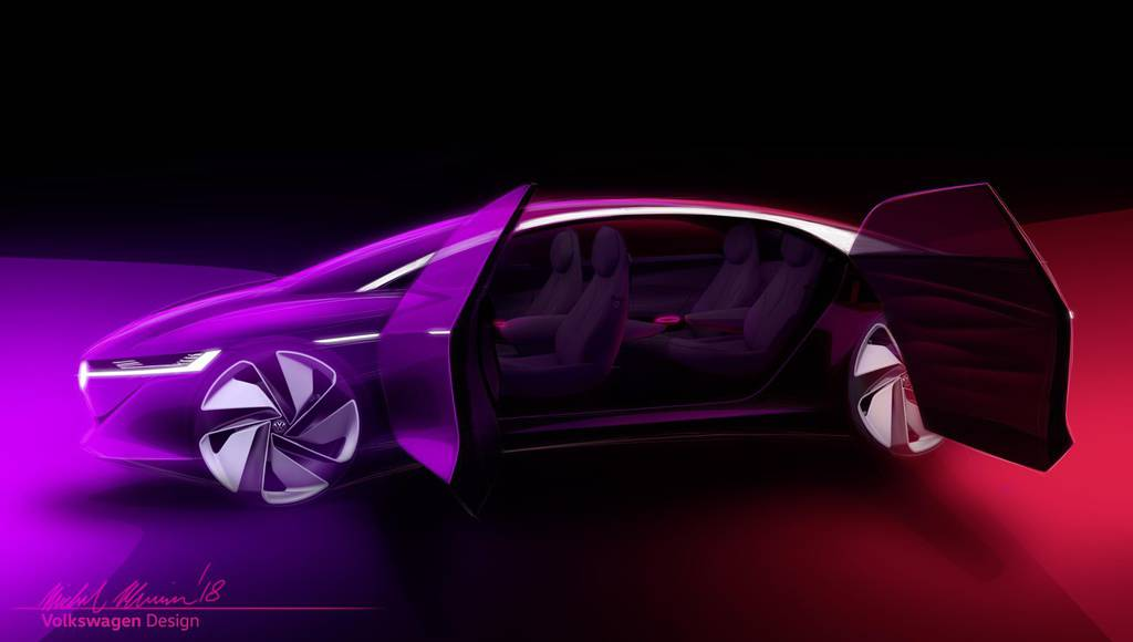 Volkswagen I.D. VIZZION concept first images
