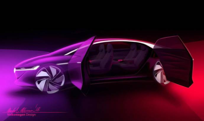 Volkswagen ID Vizzion - first official sketches