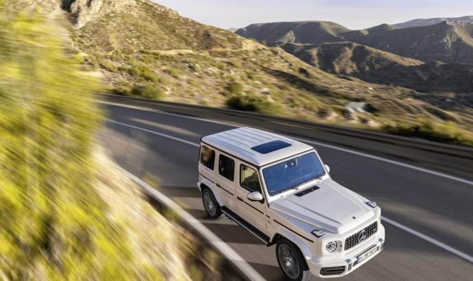 Mercedes AMG G63 Edition 1 detailed