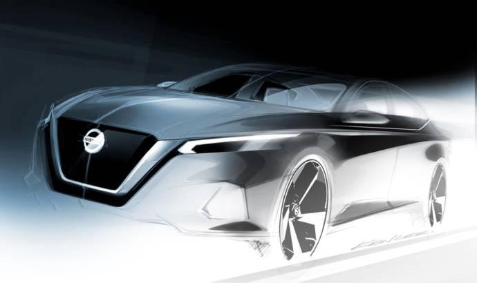 2019 Nissan Altima design sketch
