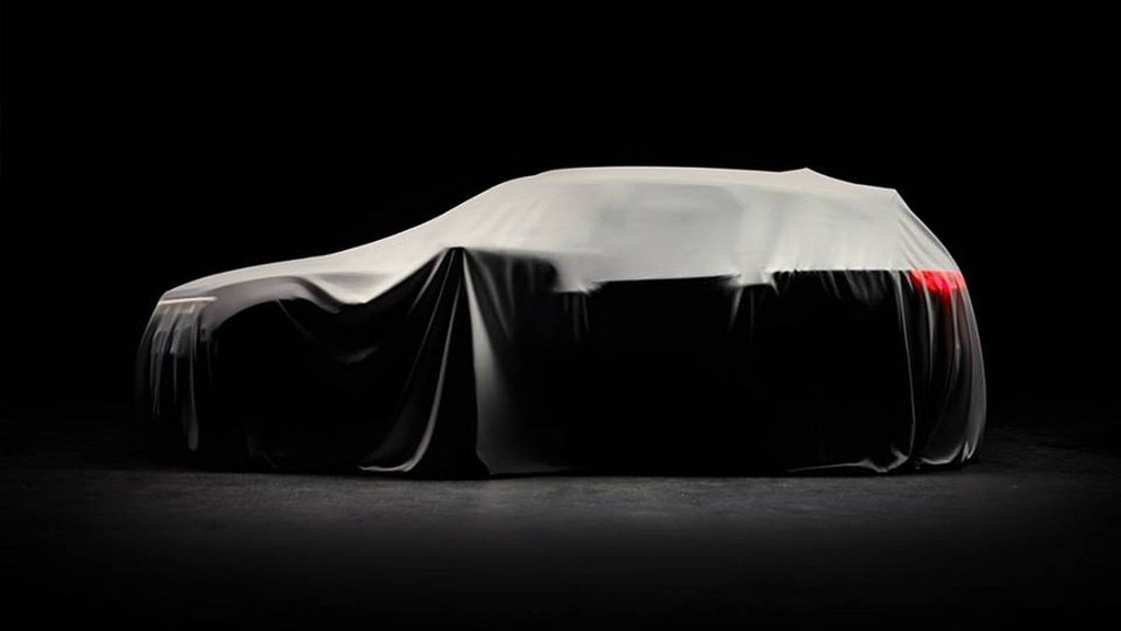 A new teaser picture with the upcoming Volkswagen Touareg - this time it hides under cover