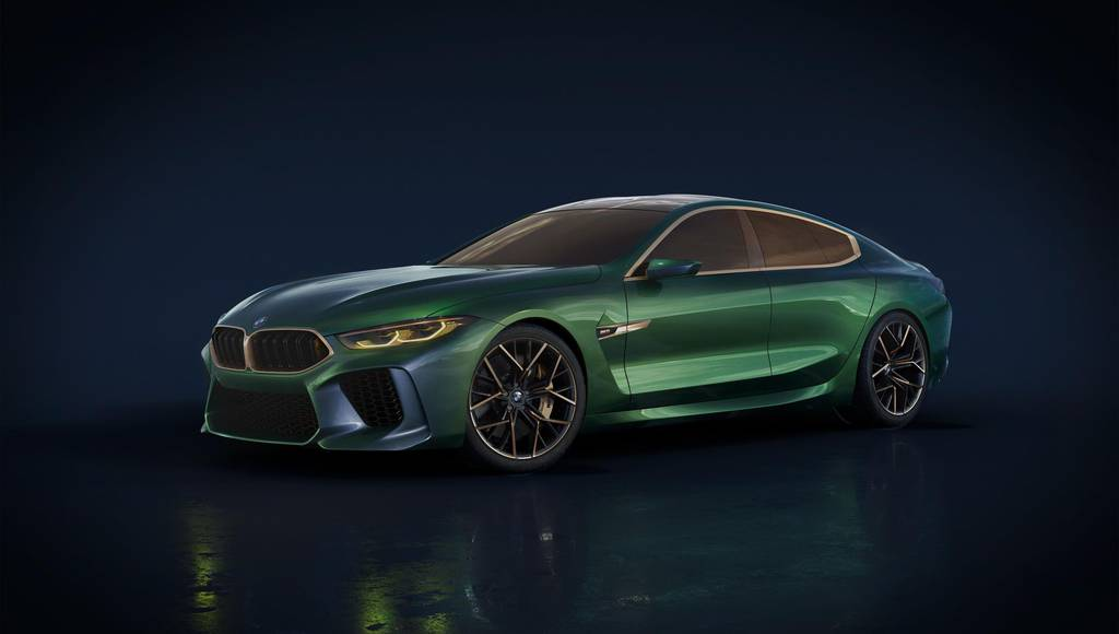 BMW M8 Gran Coupe Concept goes official