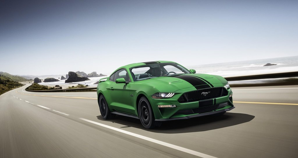 Ford Mustang Need for Green paint available