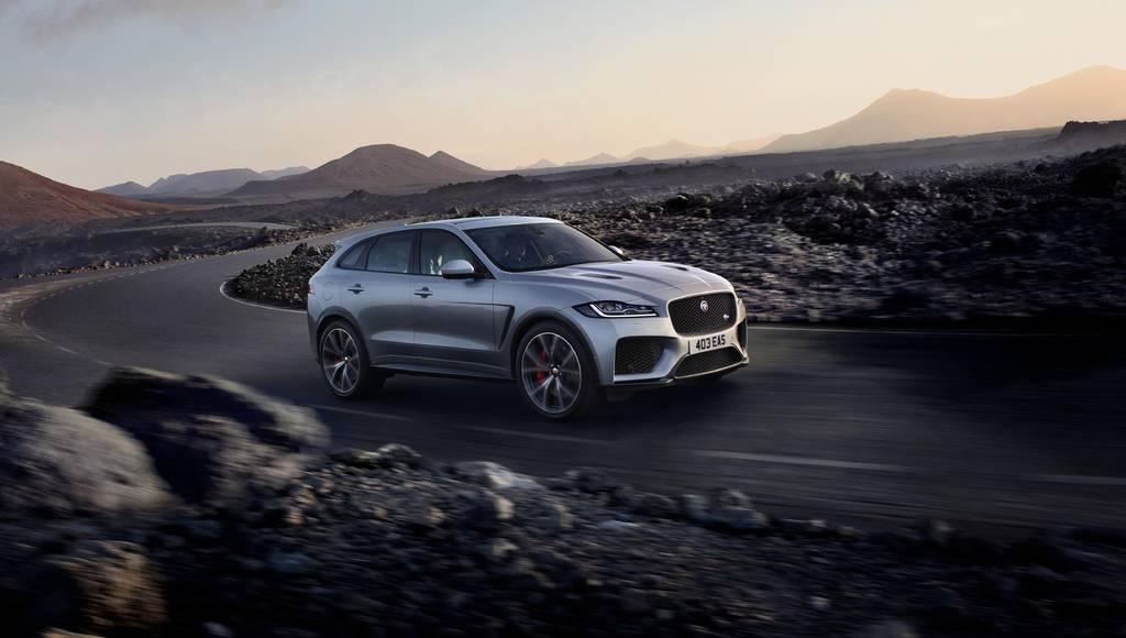 Jaguar F-Pace SVR unveiled