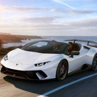 Lamborghini Huracan Performante Spyder is here