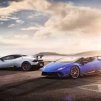 Lamborghini Huracan Performante Spyder is here