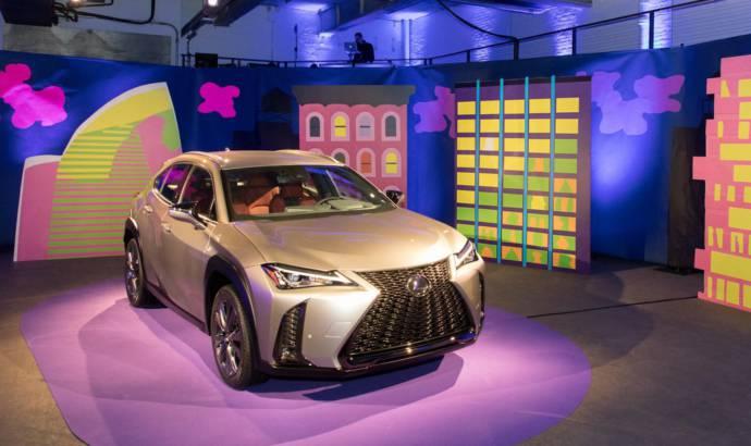 Lexus UX makes US debut in New York