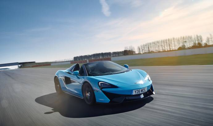 McLaren 570S Track Pack offered in UK