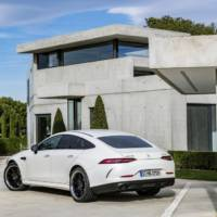 Mercedes-AMG GT 4-Door Coupe official details and images