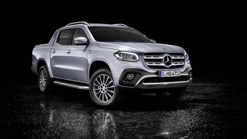Mercedes X-Class receives V6 engine and permanent 4x4