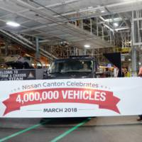 Nissan Canton factory celebrates 4 million car produced