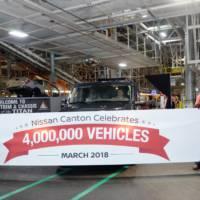 Nissan Canton factory celebrates 4 million car produced