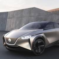 Nissan IMx Kuro Concept makes European debut