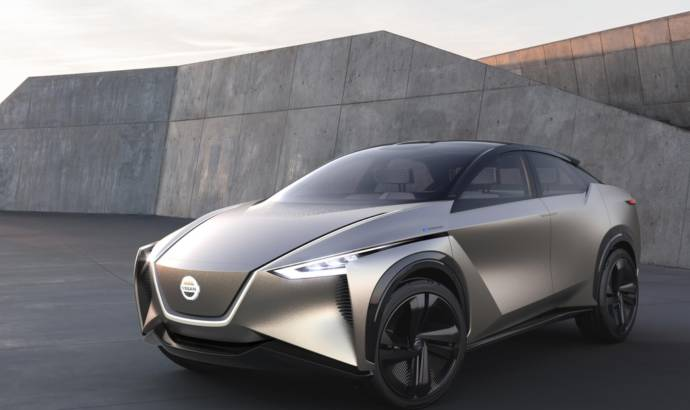Nissan IMx Kuro Concept makes European debut