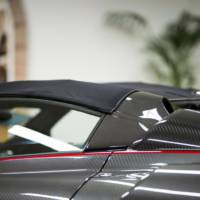 Pagani Huayra Roadster soft-top developed with Dainese