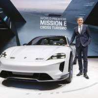 Porsche Mission E Cross Turismo launched