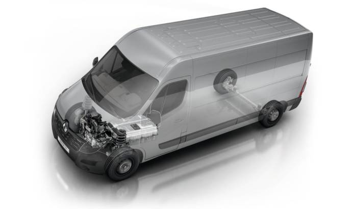Renault Master ZE electric version launched