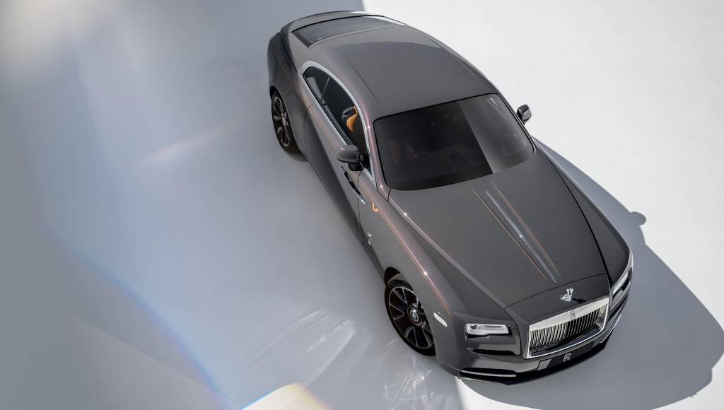 Rolls Royce Wraith Luminary Collection announced