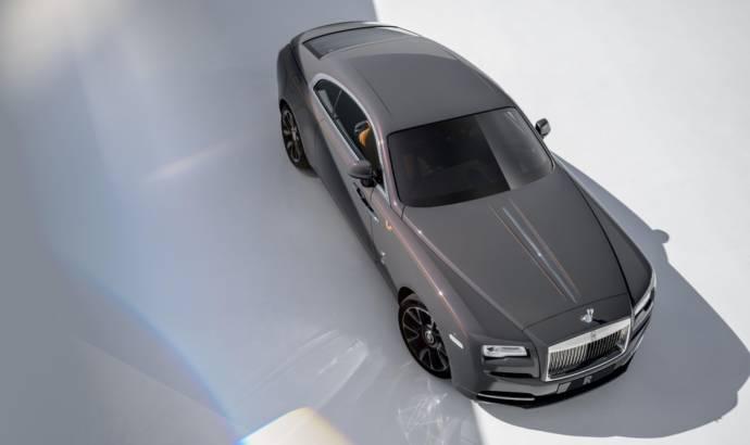 Rolls Royce Wraith Luminary Collection announced