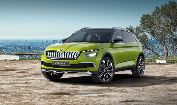 Skoda Vision X Concept - this prototype will become the smallest Czech SUV