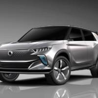 Ssangyong e-SIV electric world premiere