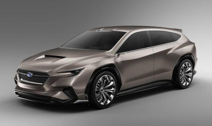 Subaru Viziv Tourer Concept unveiled in Geneva