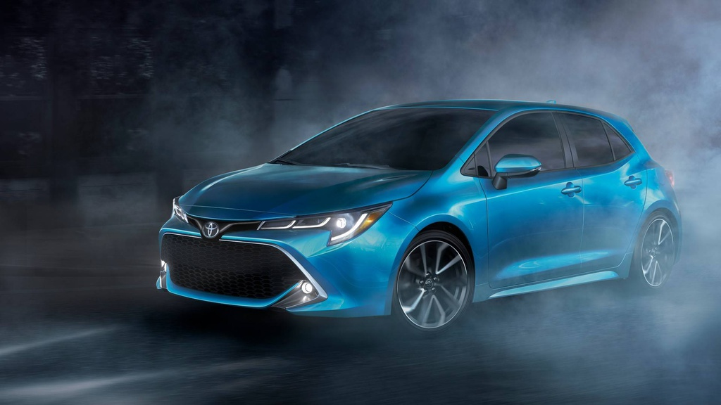 The 2019 Toyota Corolla hatchback is here