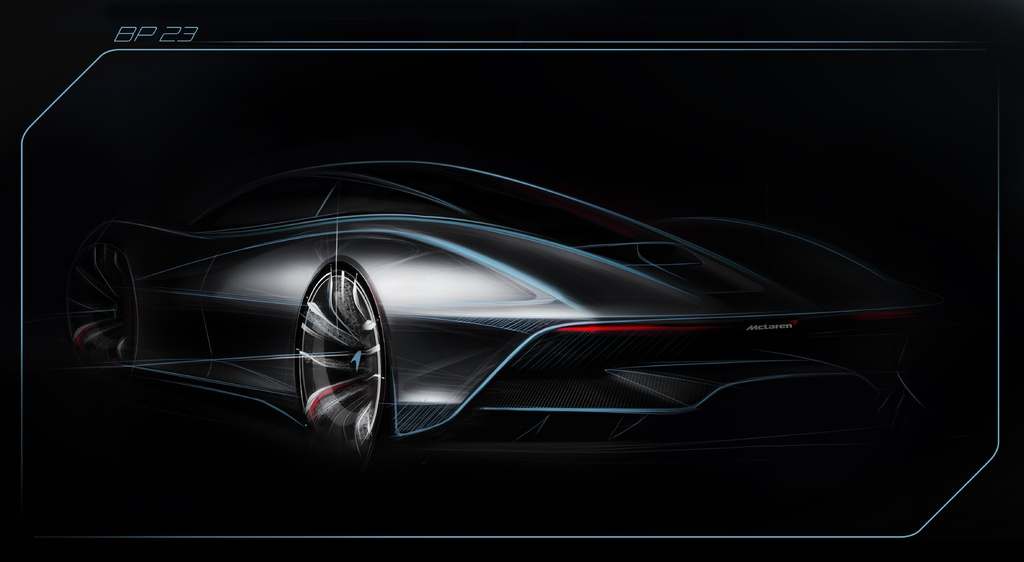 The new McLaren BP23 will be that fastest McLaren of all-time