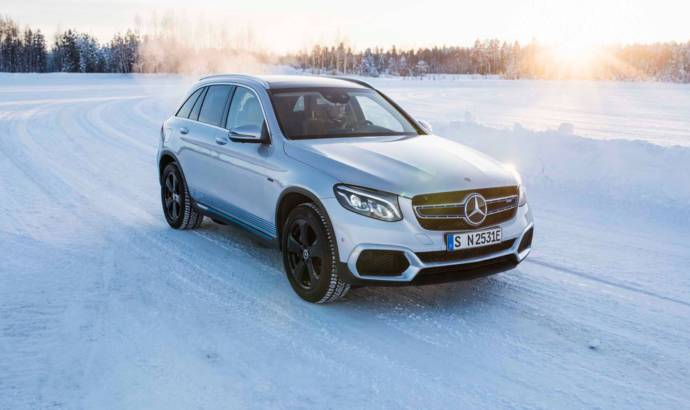 These are the first pictures of the new Mercedes-Benz EQC electric SUV