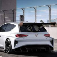 This is the Cupra e-Racer, an electric track car