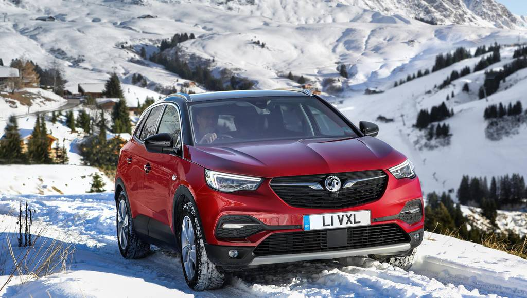 Vauxhall Grandland X now available with IntelliGrip system