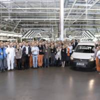 Volkswagen Caddy reaches 2 million milestone in Polish factory