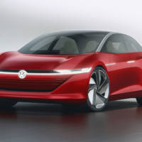 Volkswagen ID VIZZION concept - the saloon for the era of electric and autonomous mobility