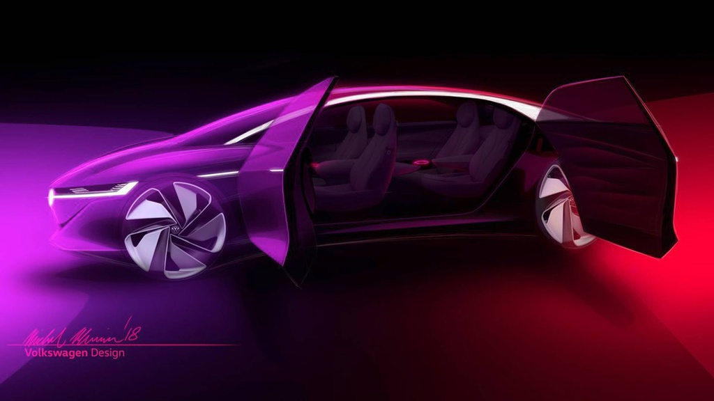 Volkswagen ID Vizzion concept was teaser again