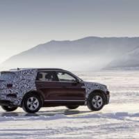 Volkswagen Touareg drove 16.500 kilometers to its world debut