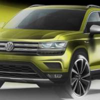 Volkswagen teases a new global SUV which will be slotted under the current Tiguan