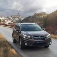 2018 Subaru Outback updated in UK