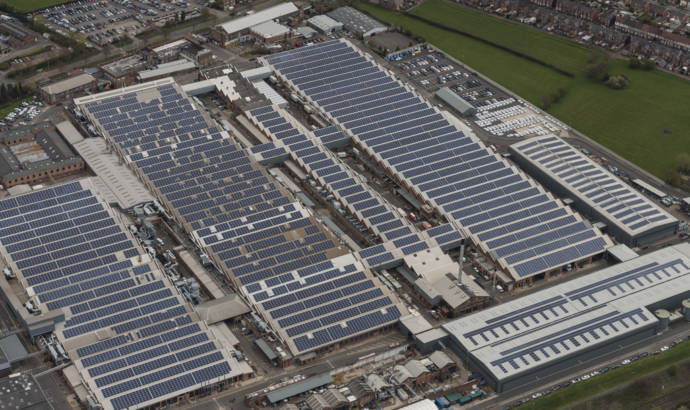 Bentley solar panel capacity to become largest in UK