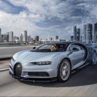 Bugatti Chiron offers telemetry data in real time