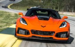 Chverolet Corvette ZR1 clocks 212 mph in official test